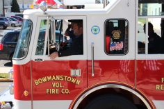 Parade for New Fire Station, Pumper Truck, Boat, Lehighton Fire Department, Lehighton (410)