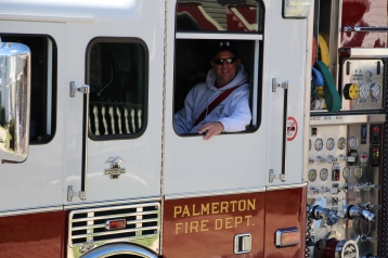Parade for New Fire Station, Pumper Truck, Boat, Lehighton Fire Department, Lehighton (415)