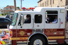 Parade for New Fire Station, Pumper Truck, Boat, Lehighton Fire Department, Lehighton (417)