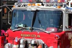 Parade for New Fire Station, Pumper Truck, Boat, Lehighton Fire Department, Lehighton (429)