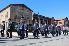 Parade for New Fire Station, Pumper Truck, Boat, Lehighton Fire Department, Lehighton (43)