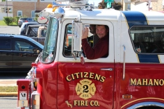 Parade for New Fire Station, Pumper Truck, Boat, Lehighton Fire Department, Lehighton (433)