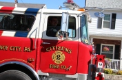 Parade for New Fire Station, Pumper Truck, Boat, Lehighton Fire Department, Lehighton (437)