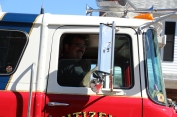 Parade for New Fire Station, Pumper Truck, Boat, Lehighton Fire Department, Lehighton (438)