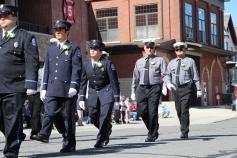 Parade for New Fire Station, Pumper Truck, Boat, Lehighton Fire Department, Lehighton (44)