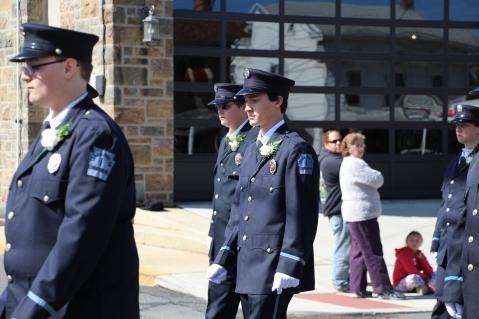 Parade for New Fire Station, Pumper Truck, Boat, Lehighton Fire Department, Lehighton (49)