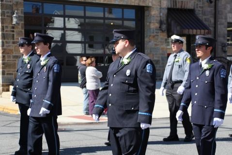 Parade for New Fire Station, Pumper Truck, Boat, Lehighton Fire Department, Lehighton (50)
