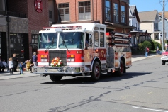 Parade for New Fire Station, Pumper Truck, Boat, Lehighton Fire Department, Lehighton (53)