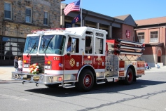 Parade for New Fire Station, Pumper Truck, Boat, Lehighton Fire Department, Lehighton (54)