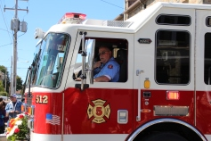 Parade for New Fire Station, Pumper Truck, Boat, Lehighton Fire Department, Lehighton (55)