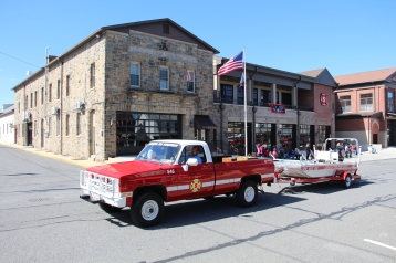 Parade for New Fire Station, Pumper Truck, Boat, Lehighton Fire Department, Lehighton (56)