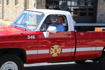 Parade for New Fire Station, Pumper Truck, Boat, Lehighton Fire Department, Lehighton (57)