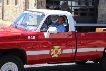 Parade for New Fire Station, Pumper Truck, Boat, Lehighton Fire Department, Lehighton (57)