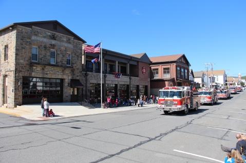 Parade for New Fire Station, Pumper Truck, Boat, Lehighton Fire Department, Lehighton (60)