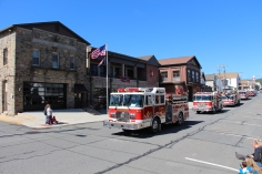 Parade for New Fire Station, Pumper Truck, Boat, Lehighton Fire Department, Lehighton (62)