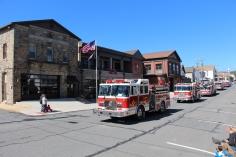 Parade for New Fire Station, Pumper Truck, Boat, Lehighton Fire Department, Lehighton (62)