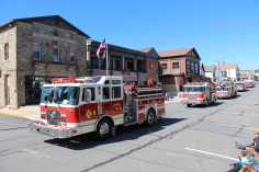 Parade for New Fire Station, Pumper Truck, Boat, Lehighton Fire Department, Lehighton (63)