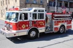 Parade for New Fire Station, Pumper Truck, Boat, Lehighton Fire Department, Lehighton (64)