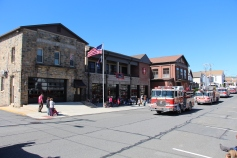 Parade for New Fire Station, Pumper Truck, Boat, Lehighton Fire Department, Lehighton (66)