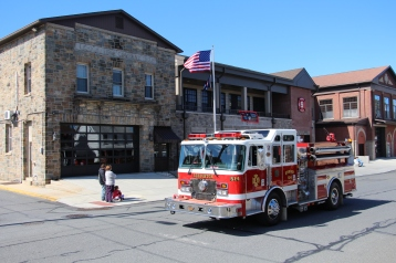 Parade for New Fire Station, Pumper Truck, Boat, Lehighton Fire Department, Lehighton (67)