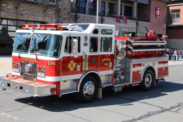 Parade for New Fire Station, Pumper Truck, Boat, Lehighton Fire Department, Lehighton (68)