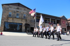 Parade for New Fire Station, Pumper Truck, Boat, Lehighton Fire Department, Lehighton (7)