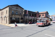 Parade for New Fire Station, Pumper Truck, Boat, Lehighton Fire Department, Lehighton (70)