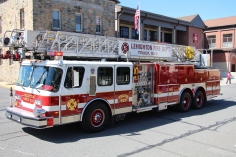 Parade for New Fire Station, Pumper Truck, Boat, Lehighton Fire Department, Lehighton (73)