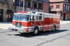 Parade for New Fire Station, Pumper Truck, Boat, Lehighton Fire Department, Lehighton (77)