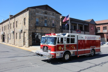 Parade for New Fire Station, Pumper Truck, Boat, Lehighton Fire Department, Lehighton (78)