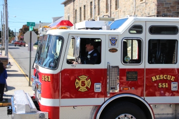 Parade for New Fire Station, Pumper Truck, Boat, Lehighton Fire Department, Lehighton (79)