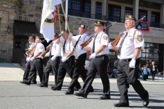 Parade for New Fire Station, Pumper Truck, Boat, Lehighton Fire Department, Lehighton (8)