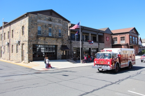 Parade for New Fire Station, Pumper Truck, Boat, Lehighton Fire Department, Lehighton (82)