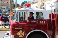 Parade for New Fire Station, Pumper Truck, Boat, Lehighton Fire Department, Lehighton (84)