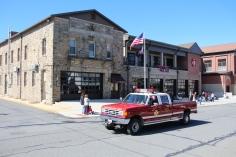 Parade for New Fire Station, Pumper Truck, Boat, Lehighton Fire Department, Lehighton (85)