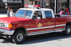 Parade for New Fire Station, Pumper Truck, Boat, Lehighton Fire Department, Lehighton (86)