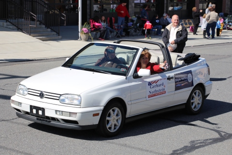 Parade for New Fire Station, Pumper Truck, Boat, Lehighton Fire Department, Lehighton (93)