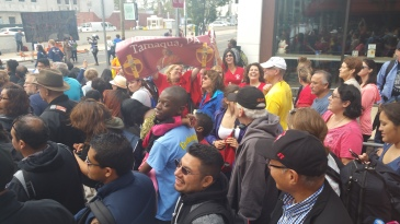 Pope Visit, Salvation Army volunteers, from Eric Becker, Philadelphia, Sept 2015 (102)