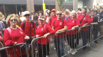 Pope Visit, Salvation Army volunteers, from Eric Becker, Philadelphia, Sept 2015 (103)