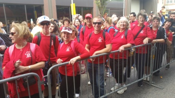 Pope Visit, Salvation Army volunteers, from Eric Becker, Philadelphia, Sept 2015 (104)