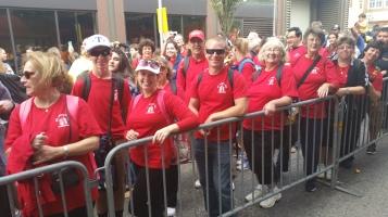 Pope Visit, Salvation Army volunteers, from Eric Becker, Philadelphia, Sept 2015 (104)