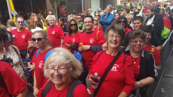 Pope Visit, Salvation Army volunteers, from Eric Becker, Philadelphia, Sept 2015 (106)
