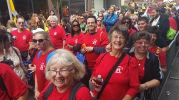 Pope Visit, Salvation Army volunteers, from Eric Becker, Philadelphia, Sept 2015 (106)