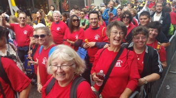 Pope Visit, Salvation Army volunteers, from Eric Becker, Philadelphia, Sept 2015 (108)