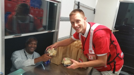 Pope Visit, Salvation Army volunteers, from Eric Becker, Philadelphia, Sept 2015 (11)