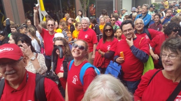 Pope Visit, Salvation Army volunteers, from Eric Becker, Philadelphia, Sept 2015 (110)