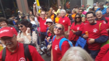 Pope Visit, Salvation Army volunteers, from Eric Becker, Philadelphia, Sept 2015 (111)
