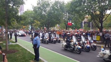 Pope Visit, Salvation Army volunteers, from Eric Becker, Philadelphia, Sept 2015 (125)