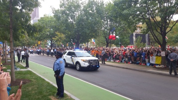 Pope Visit, Salvation Army volunteers, from Eric Becker, Philadelphia, Sept 2015 (126)