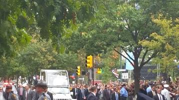 Pope Visit, Salvation Army volunteers, from Eric Becker, Philadelphia, Sept 2015 (133)